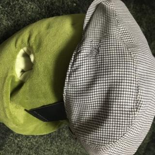 バーバリー(BURBERRY)のレア☆BURBERRY GOLF ハンチング帽 千鳥格子 グレー(その他)