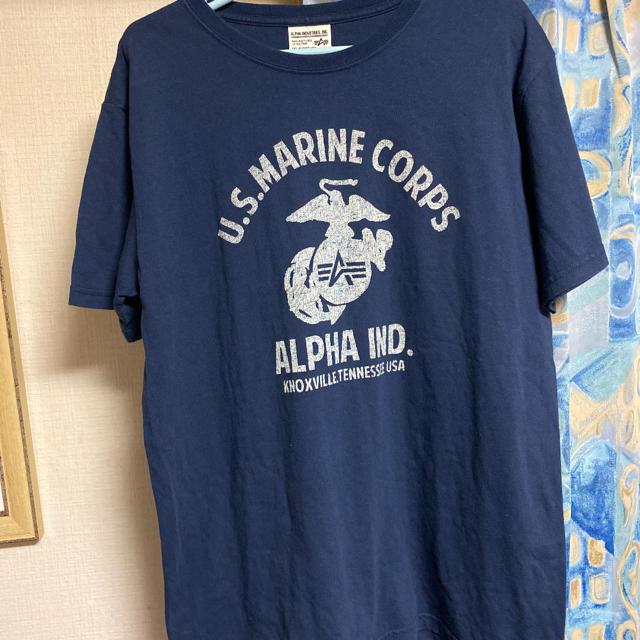 alpha(アルファ)のALPHAアルファ半袖Tシャツ メンズのトップス(Tシャツ/カットソー(半袖/袖なし))の商品写真