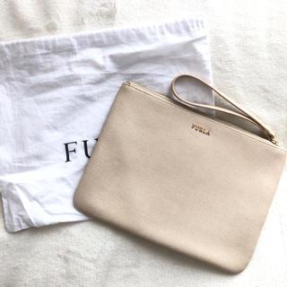 フルラ(Furla)の美品♪ FURLA フルラ クラッチバッグ ポーチ(クラッチバッグ)