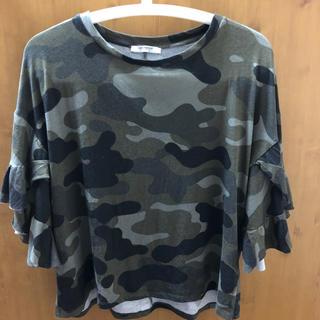 ザラ(ZARA)のZARA 迷彩Tシャツ(Tシャツ(半袖/袖なし))