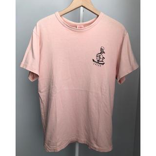 キャリー(CALEE)のCALEE キャリー スカル イカリ ロゴ Logo Tシャツ M(Tシャツ/カットソー(半袖/袖なし))