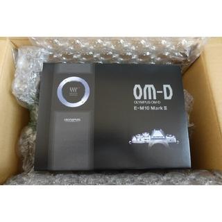 オリンパス(OLYMPUS)のオリンパスOM-D E-M10 markⅢボディ新品未使用!メーカー保証(ミラーレス一眼)