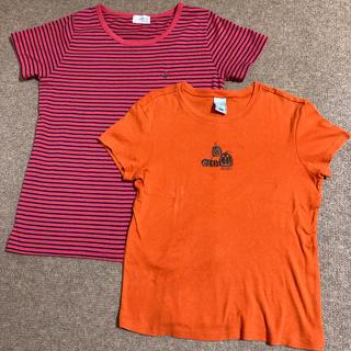 オールドネイビー(Old Navy)のレディースTシャツ 2枚セット(Tシャツ(半袖/袖なし))