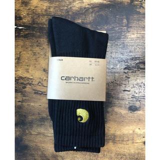 カーハート(carhartt)のCarhartt カーハート ソックス 靴下 黒(ソックス)