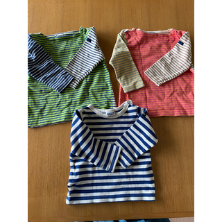 シップス(SHIPS)の秋用 カットソー  3枚 ロンT 1枚 (Tシャツ/カットソー)