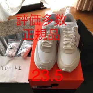 サカイ(sacai)の新品Nike x sacai LDV Waffle ホワイト サカイ23.5(スニーカー)