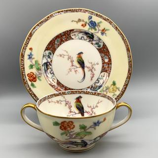 アビランド(Haviland)の1903-1925年 リモージュ アビランド カップ&ソーサー 【ひび有】(食器)