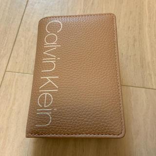 カルバンクライン(Calvin Klein)の【未使用品】【値下げ】Calvin Klein 二つ折り財布(財布)