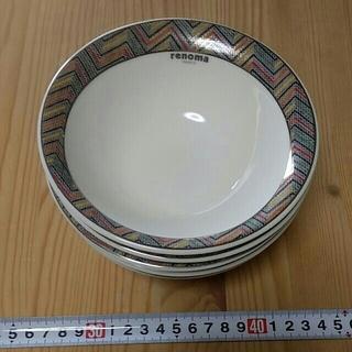 レノマ(RENOMA)のrenoma  レノマ サラダ皿5枚セット 美品(食器)