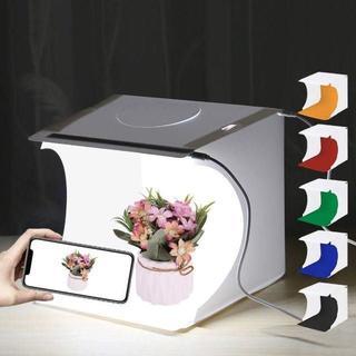 【即日発送】撮影ボックス 6色背景スクリーン 20cmサイズ【送料無料】(暗室関連用品)
