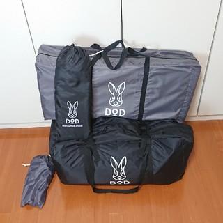 ドッペルギャンガー(DOPPELGANGER)のDODカマボコテント2 ブラック(テント/タープ)