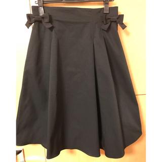 エムズグレイシー(M'S GRACY)のエムズグレイシー2019summerカタログ掲載 リボンスカート 38(ひざ丈スカート)