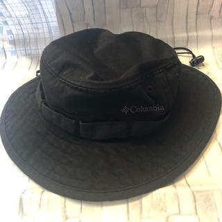 コロンビア(Columbia)の美品♡Columbia キッズ 帽子 黒(帽子)