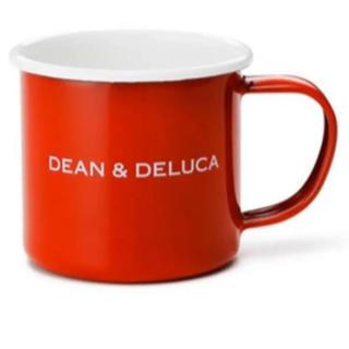 ディーンアンドデルーカ(DEAN & DELUCA)のDEAN&DELUCA ホーローマグカップレッド(グラス/カップ)