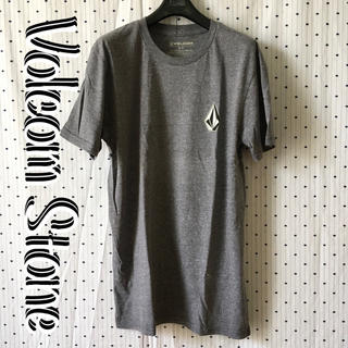 ボルコム(volcom)のVOLCOMボルコム US限定 両面プリント ストーンロゴ Tシャツ アッシュ(サーフィン)