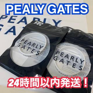 パーリーゲイツ(PEARLY GATES)の新品パーリーゲイツ 虫除けラバーバンド ホワイト 二本セット ブレス(その他)