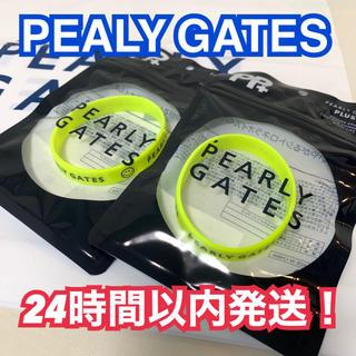 パーリーゲイツ(PEARLY GATES)の新品パーリーゲイツ 虫除けラバーバンド イエロー2本セット ブレス(その他)