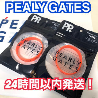 パーリーゲイツ(PEARLY GATES)の新品パーリーゲイツ 虫除けラバーバンド オレンジ二本セット ブレス(その他)