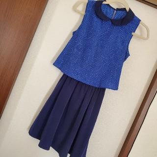 ジーユー(GU)のワンピース ドレス 結婚式 レディース キッズ 女の子(ドレス/フォーマル)