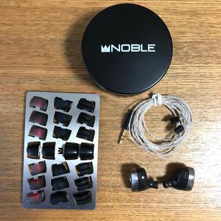ノーブル(Noble)の美品 NOBLE AUDIO TRIDENT おおまたろ様専用(ヘッドフォン/イヤフォン)
