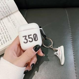 アディダス(adidas)の☆在庫1つのみ☆AirPods1/2ケース YEEYZ 350(モバイルケース/カバー)