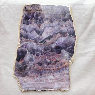 アンソロポロジー(Anthropologie)の天然石 アゲート プレート大(テーブル用品)