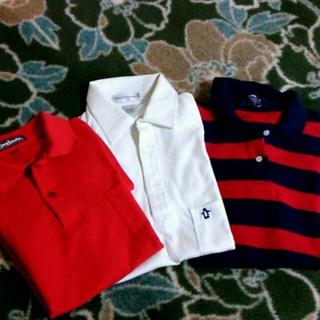 マンシングウェア(Munsingwear)のお買得♪ポロシャツ3枚セット☆送込(ポロシャツ)