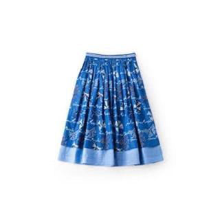ジェーンマープル(JaneMarple)のJane Marple リボンスカート(ひざ丈スカート)