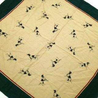 ラルフローレン(Ralph Lauren)のラルフローレン スカーフ美品  犬(バンダナ/スカーフ)