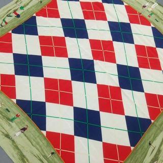 ラルフローレン(Ralph Lauren)のラルフローレン スカーフ美品  ゴルフ(バンダナ/スカーフ)