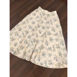 エディットフォールル(EDIT.FOR LULU)のvintage flower skirt(ロングスカート)