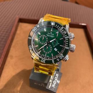 エドックス(EDOX)のエドックス EDOX クロノオフショア1 クオーツクロノグラフ新品未使用(腕時計(アナログ))