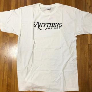 エニシング(aNYthing)の送料込 anything nyc logo tee(Tシャツ/カットソー(半袖/袖なし))