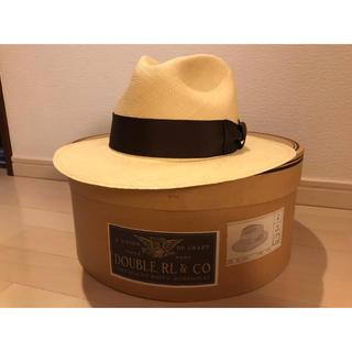 ダブルアールエル(RRL)のRRL(ダブルアールエル)STRAW HAT / Lサイズ 61センチ(ハット)