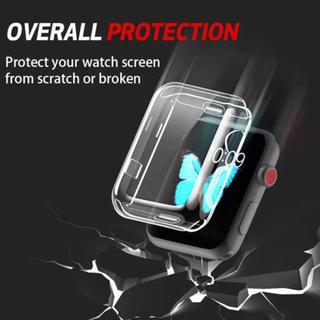 アップルウォッチ(Apple Watch)の更にお値下げ‼️AppleWatch4、5 40mm用 保護カバー 保護ケース(保護フィルム)