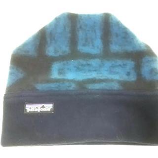 パタゴニア(patagonia)のパタゴニア ニット帽 S-M新品同様 (ニット帽/ビーニー)