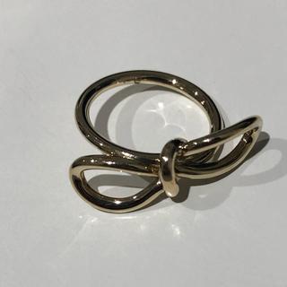 バレンシアガ(Balenciaga)のバレンシアガ  リボンリング(リング(指輪))