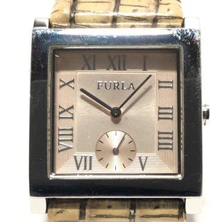 フルラ(Furla)のフルラ 腕時計 レディース ライトベージュ(腕時計)