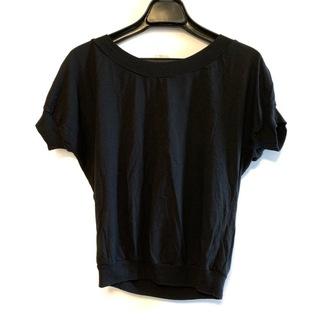 ドリスヴァンノッテン(DRIES VAN NOTEN)のドリスヴァンノッテン 半袖カットソー 黒(カットソー(半袖/袖なし))
