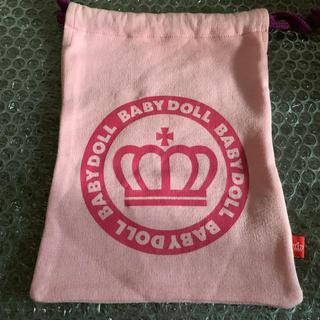 ベビードール(BABYDOLL)の新品未使用 BABYDOLL ベビドール 巾着(ポーチ)