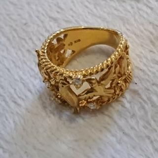 タサキ(TASAKI)のTASAKI K18 鳥 バード ダイヤモンド リング(リング(指輪))