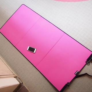 リーボック(Reebok)のリーボック ヨガマット 新品 ピンク(エクササイズ用品)