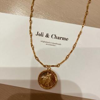 エイミーイストワール(eimy istoire)の14kgf maria coin choker  necklace メダイ(ネックレス)