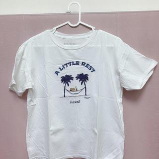 スヌーピー(SNOOPY)の日焼け スヌーピー Sサイズ SURF'S UP PEANUTS(Tシャツ/カットソー(半袖/袖なし))