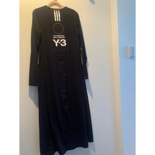 ワイスリー(Y-3)のY-3ロングワンピース ほぼ未使用(ロングワンピース/マキシワンピース)
