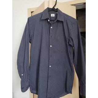 ユニクロ(UNIQLO)の【9/26まで最安値】 メンズ 長袖シャツ ドット(シャツ)