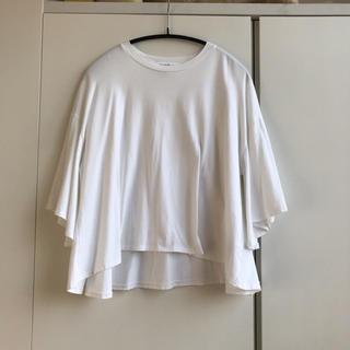 エンフォルド(ENFOLD)のenfold フレアスリーブ Tシャツ(Tシャツ(半袖/袖なし))