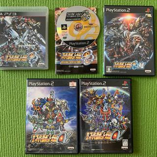 バンプレスト(BANPRESTO)のPS2/PS3 スーパーロボット大戦 5本(+おまけ)(家庭用ゲームソフト)