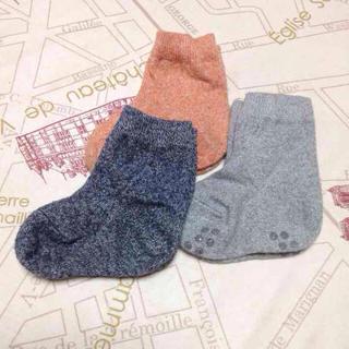 ムジルシリョウヒン(MUJI (無印良品))の無印良品 ベビー靴下 11〜13cm(靴下/タイツ)