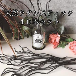 【天然】ラタンスティック 28.5㎝*40本(アロマディフューザー)